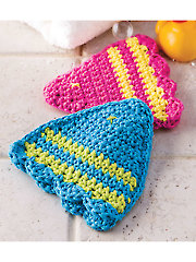 1 Fish, 2 Fish Bath Mitts - Electronic Download
