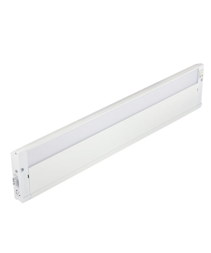 "5"" LED 1 Light Light Bar in Textured White"