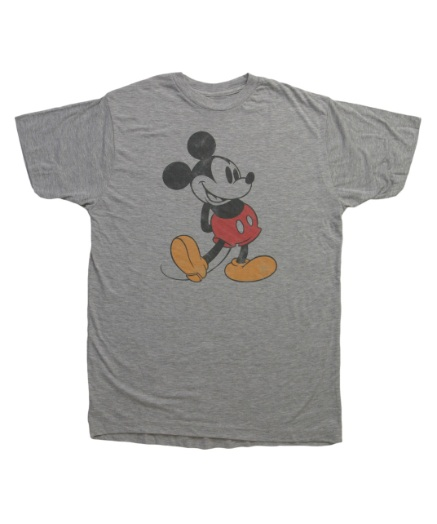 Classic Distressed Mickey T-Shirt