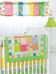 Exclusively Annie's Bright & Charming Nursery Set Pattern - Electronic Download