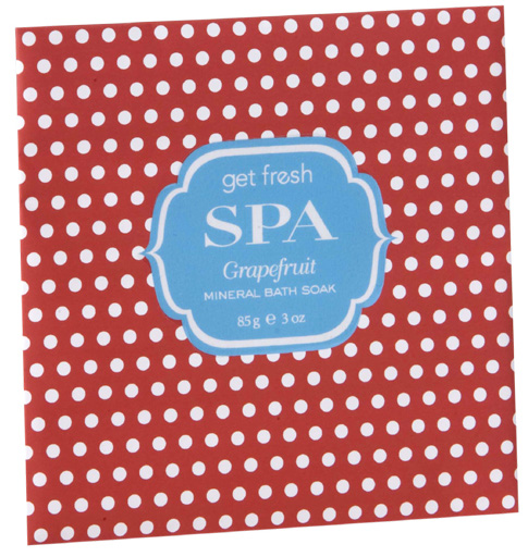 Get Fresh SPA Mineral Bath Soak