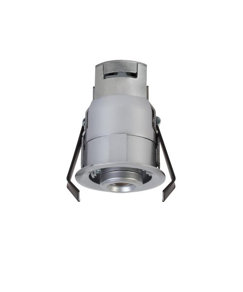 "Niche 3"" LED 1 Light Recessed Housing in Satin Nickel"