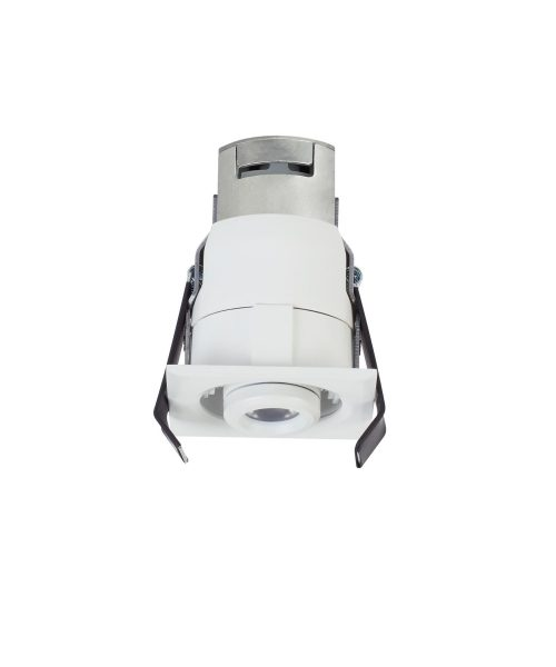 "Niche 3"" LED 1 Light Recessed Housing in White"