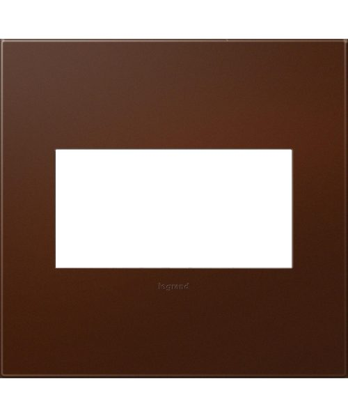 """Plastics 5"""" Wall Plate in Soft Touch Russet"""
