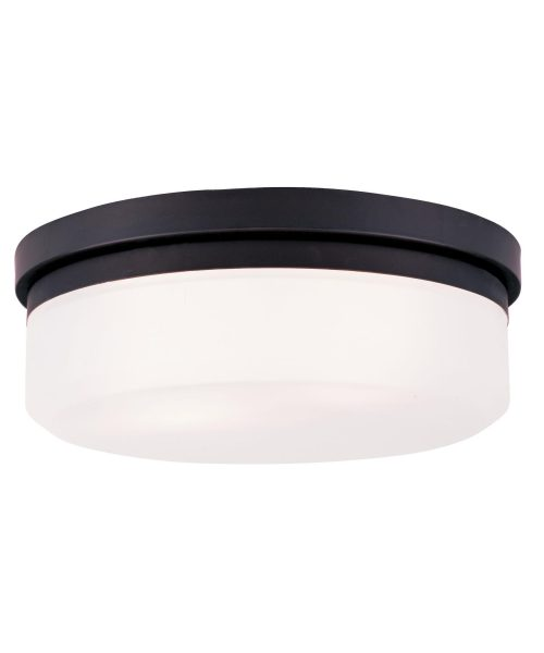 Livex Lighting Stratus 13 Inch Wide Flush Mount Livex Lighting - 7392-07 - Modern Contemporary Flush Mount