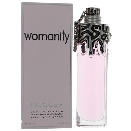 Womanity by Thierry Mugler, 2.7 oz Eau De Parfum Refillable Spray for Women