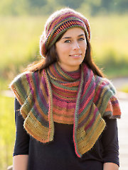 ANNIE'S SIGNATURE DESIGNS: Moonbow Beret & Shawl Crochet Pattern - Electronic Download